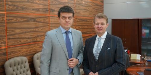 Михаил Котюков посетил офис Совета проректоров России