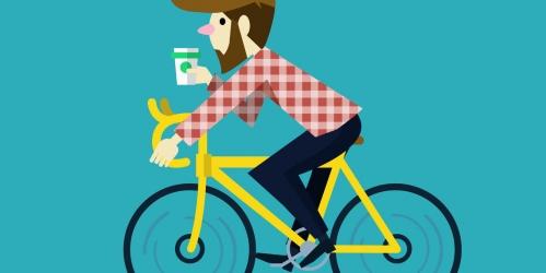 На велосипеде до офиса